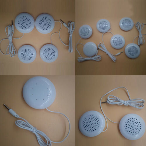 3.5mm AUX Pillow Mini Speaker Audio for MP3 MP4 CD Player iPod Phone White Gifts