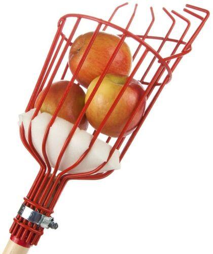Fruit Picker Head Basket Apple Picking Harvester Horticulture Gardening Tool
