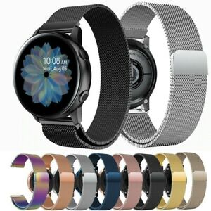 For Samsung Galaxy Watch Active2 40MM Strap Replacement Metal Milanese Band
