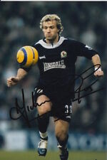 BLACKBURN ROVERS HAND SIGNED MICHAEL GRAY 6X4 PHOTO.