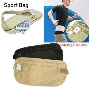 Travel-Pouch-Wallet-Passport-Money-Waist-Belt-Bag-Slim-Travel-Bags-Chest-Packs