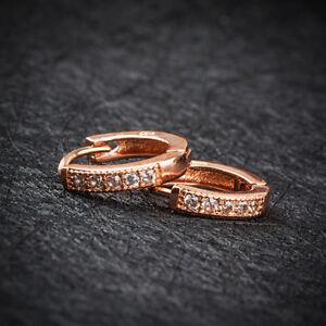 2Pcs-Fashion-Women-Rose-Gold-Crystal-Ear-Hoop-Stud-Huggie-Earrings-Jewelry-Gift