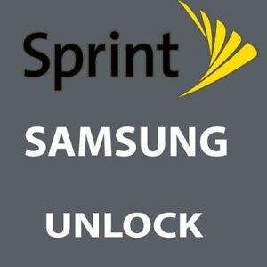 SPRINT REMOTE UNLOCK SERVICE VIA USB SAMSUNG Galaxy SM-J727P