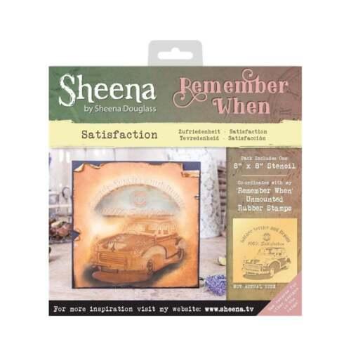 Sheena Douglass Remember When Range Rubber Stamps /& Stencils Crafters Companion