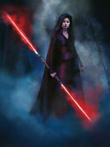 Star Wars Rise Of Skywalker Dark Rey Jeremy Saliba Poster Lithograph Print 18x24 Ebay