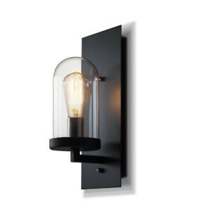 Details About Indoor Wall Lights Kitchen Gl Lamp Black Sconce Bar Lighting