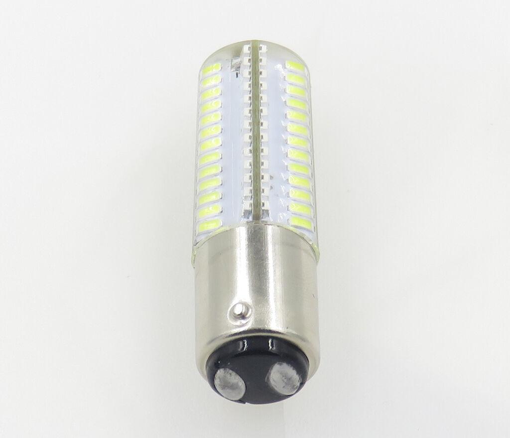 40x BA15D B15 4W 104LED Light Bulb 110V Best Fit Singer White FW 221k7//Black FW