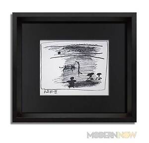 Pablo-PICASSO-Lithograph-Limited-Edition-1961-3-Cat-Ref-Custom-FRAMING