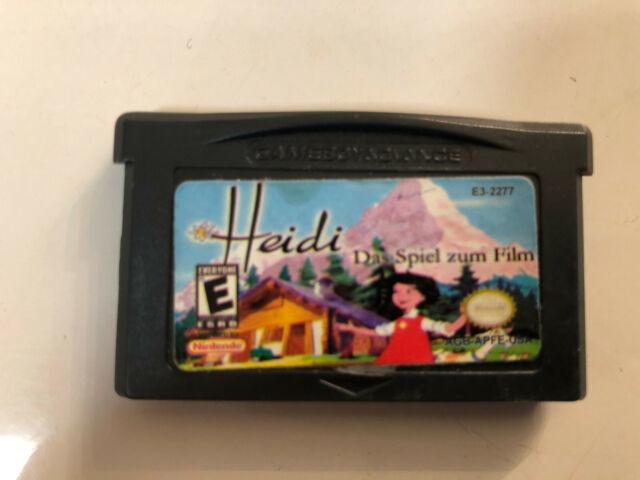 Heidi le Jeu pour Film - Gameboy Advance / Sp Jeu
