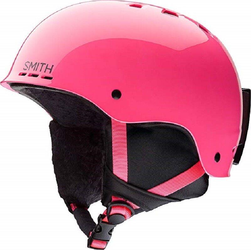 Smith Holt Jr.  Ski   Snow Helmet + Goggle Combo, Pink, Youth Medium, Brand NEW   hot sports