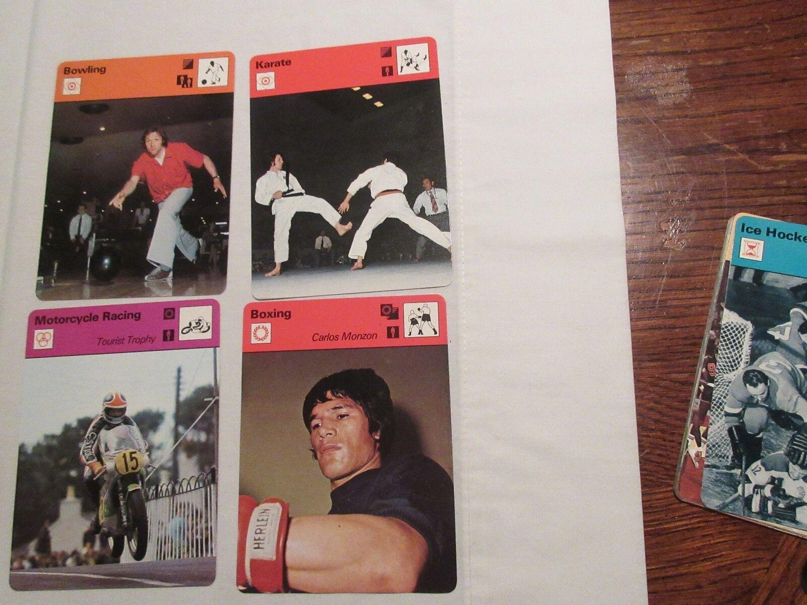 Sportscaster Cards ,1978 ,Deck # 05 ,Cards # 1-24 , Gal
