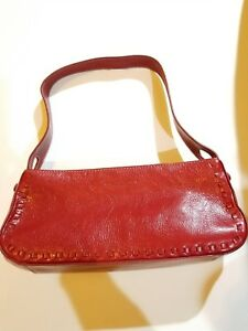 359b9ab01f Image is loading Kenneth-Cole-Reaction-Red-Leather-Mini-Purse