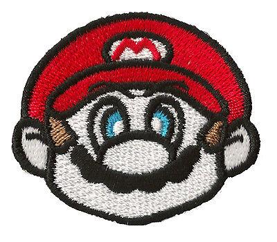 Écusson hotfix thermocollant patche Mario patch déco jeux vidéos
