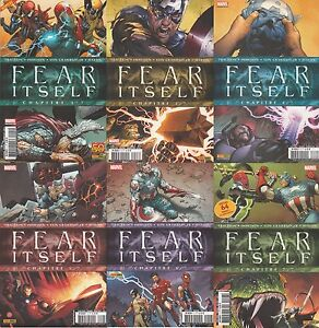 FEAR-ITSELF-N-1-3-4-5-6-7-Marvel-Panini-Comics