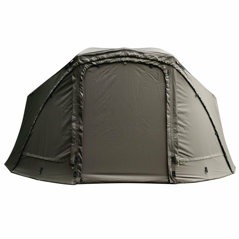 FOX Ultra 60 brolley full front KHAKI Angelzelt by TACKLE-DEALS