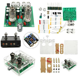 Details about 6J1 Valve Pre-amp Tube PreAmplifier Board DIY KIT Headphone  Buffer +Case AC 12V