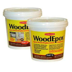 Abatron woodepox epoxy wood replacement compound 2 for Wood floor epoxy filler
