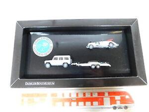 BX273-0-5-Wiking-1-87-H0-Set-Daimler-Benz-Oldtimer-Service-NEUW-OVP