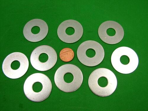 PENNY RÉPARATION GARDE-BOUE rondelles Large M12 x 38 mm Zinc Plaqué GRAND TROU Lot de 10