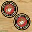2-TWO-US-MARINES-Vinyl-Decal-Sticker-For-Car-Laptop-Skateboard-NEW-USA-Marine thumbnail 2