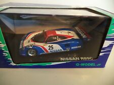 Q-MODEL 1:43 NISSAN R89C #25 QMC-003 Le Mans Diecast Metal Model