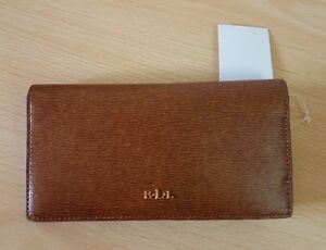 Brown decent Slim Very A Colour Ralph Bnwt Smart In wallet By Lauren ZqEEwz