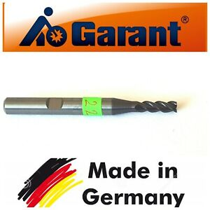 GARANT-FEINSTKORN-Solid-Carbide-End-Mill-4mm-Shank-Dia-6MM-TiAIN-Coat-3-Flute