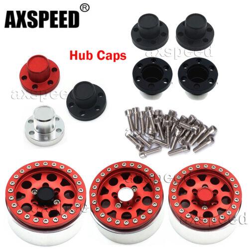 "4Pcs 1.9/"" RC Wheel Center Hub Caps for SCX10 RC 4WD Wheel Rims 1//10 RC Crawler"