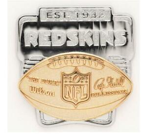 Washington-Redskins-Logo-Deluxe-Pin-Duke-Badge-NFL-Football-Metall