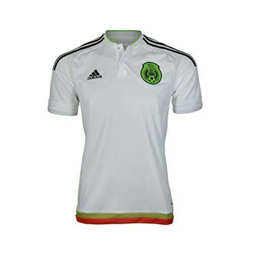 adidas Mexico 2015 Youth Away Jersey White Size Small for sale ...
