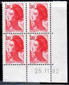 Coin Daté Liberté N° 2220 Du 25/11/1982 **
