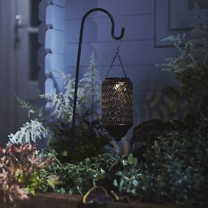 Led Solar Laterne Marrokanischer Stil Garten Deko Beleuchtung
