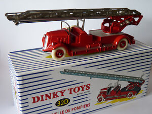 Auto-echelle-Delahaye-de-pompiers-ref-32D-32-D-de-dinky-toys-atlas