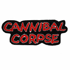 CANNIBAL CORPSE Embroidered Iron On or Sew On Patch UK SELLER Patches
