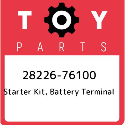 2822672010 Genuine Toyota STARTER KIT BATTERY TERMINAL 28226-72010