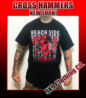 HELLS ANGELS Support Gear BEACH SIDE Virginia CROSS HAMMERS