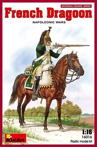 Miniart-16016-1-16-French-Dragoon-Napoleonic-Wars-Plastic-Kit
