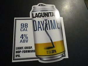 Details about LAGUNITAS BREWING DayTime IPA Can STICKER label decal craft  beer brewery