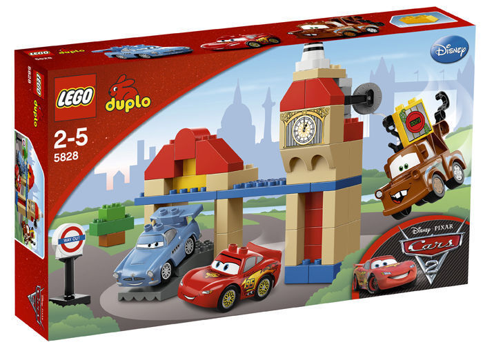 LEGO ® CARS 5828 Big Bentley Nouveau neuf dans sa boîte NEW En parfait état, dans sa boîte scellée Boîte d'origine jamais ouverte