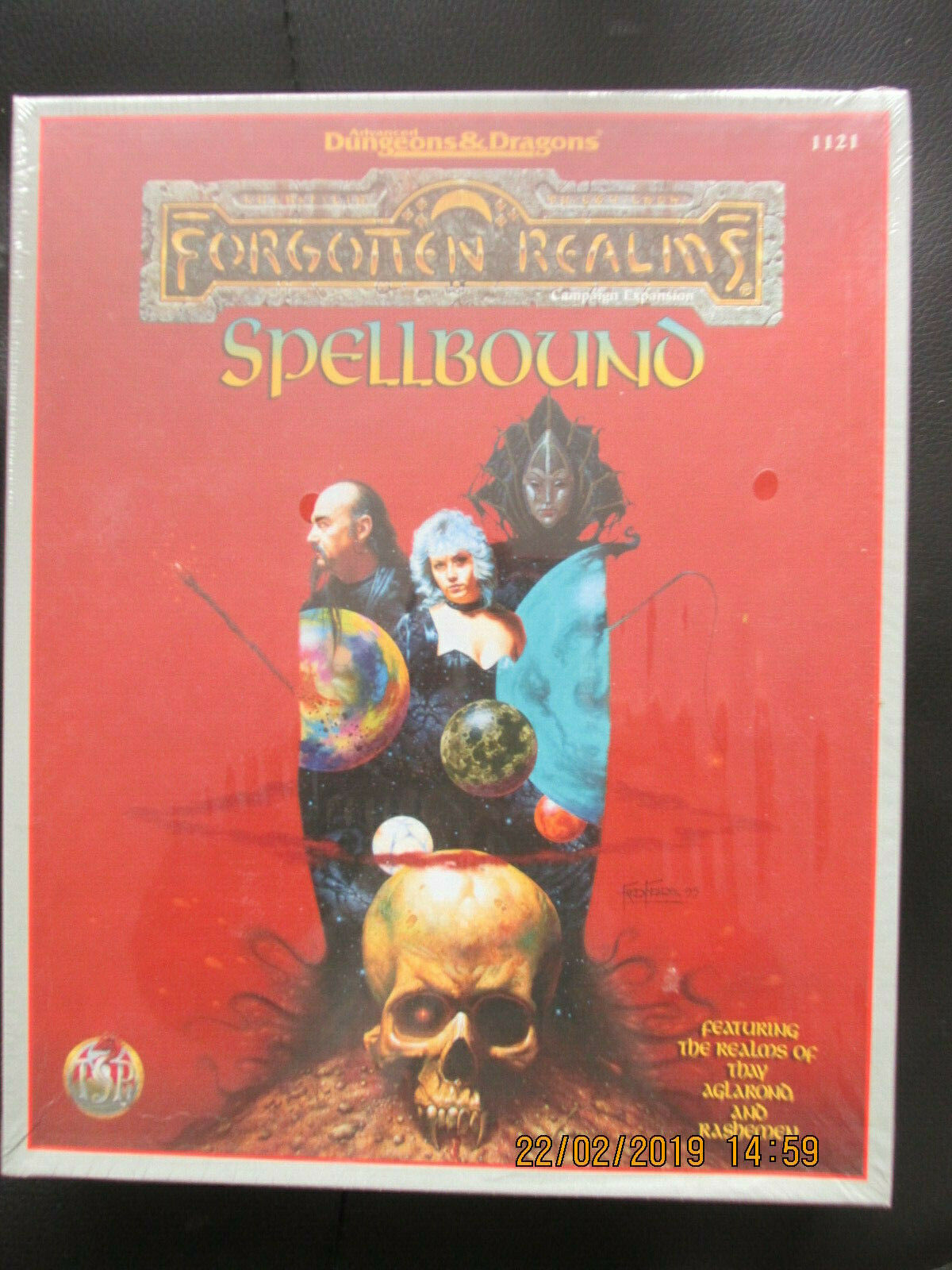 TSR AD&D FORGOTTEN REALM 2E SPELLBOUND BOXED SET 1121  BOXED ADV DUNGEON DRAGON