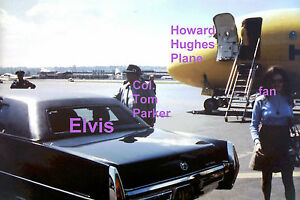 ELVIS-IN-LIMO-AIRPORT-FAN-HOWARD-HUGHES-PLANE-SEATTLE-WA-4-29-76-PHOTO-CANDID