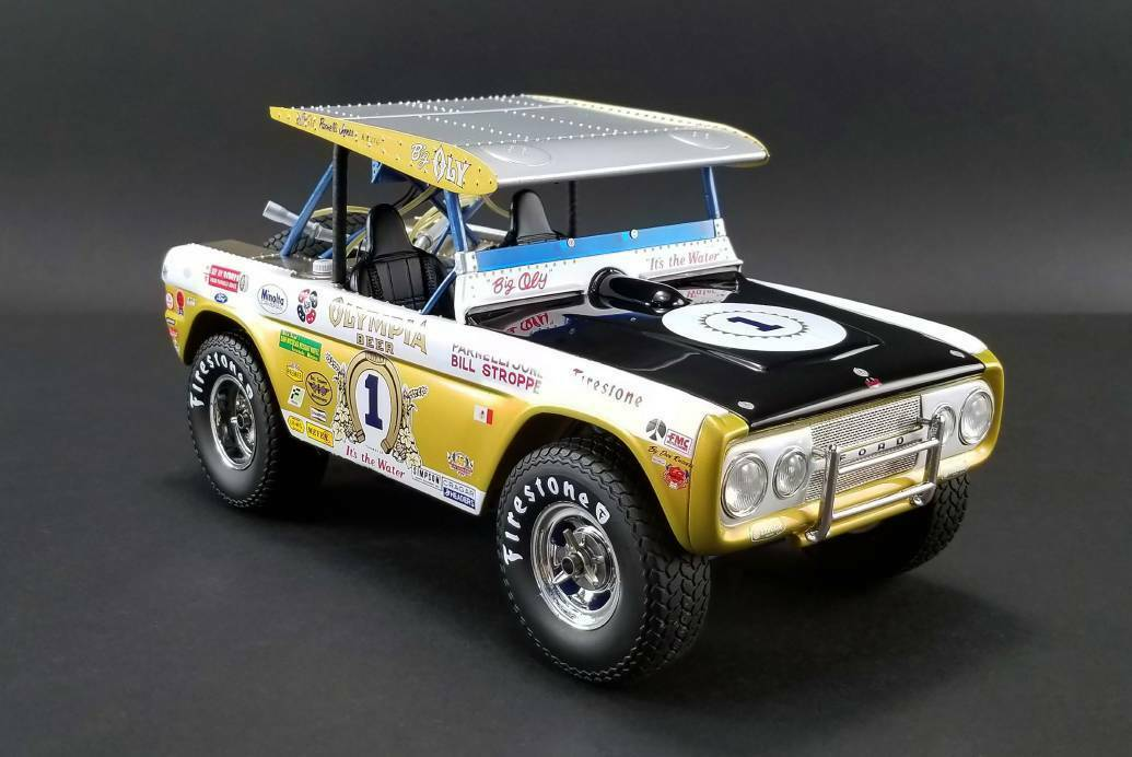 Real Art Replicas Big Only Bronco  1 - Parnelly Jones - Baja 1000 Champion 1 18