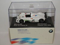 MINICHAMPS BMW V12 LMR SEBRING 1999 WINNER #42 DEALER BOX 1/43