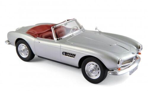 Norev 183230 BMW 507 Cabriolet 1956 silber 1:18