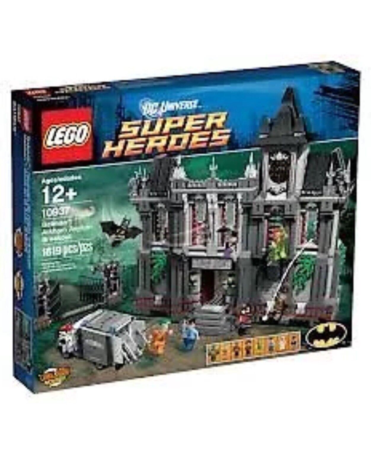 LEGO Super Heroes 10937 Batman Arkham Asylum Breakout New Sealed Retirot