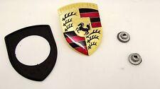 New Genuine Porsche 911 924S 924 944 968 964 928 912 Bonnet Badge Kit