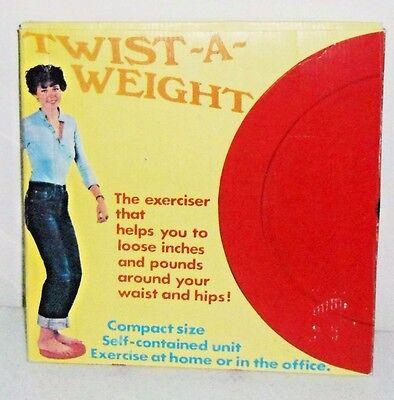 """Vintage Twist Exerciser """"Twist a Weight"""" in Original Box - 1970s ?"""