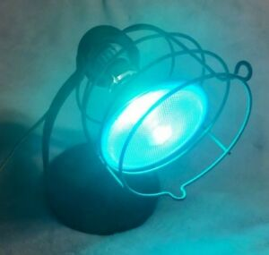 """Other Collectible Lighting Vintage """"rex Ray"""" Metal Heat Lamp Light W/cage & Original Blown Bulb Steam Punk Collectibles"""