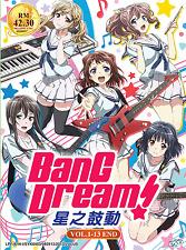 DVD Anime Bang Dream Vol. 1 - 13 End English Subtitle All Region