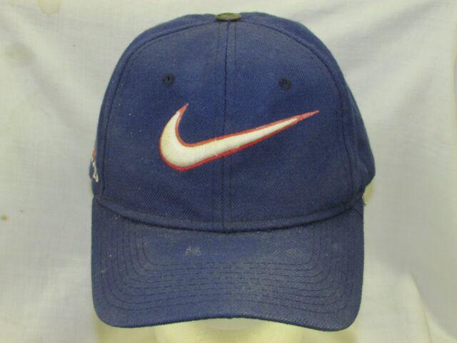 0aeb7e59d3e trucker hat baseball cap NIKE retro old style vintage unique rare curved  brim